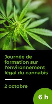 Journée de formation sur lenvironnement légal du cannabis