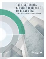 Tarification des services juridiques